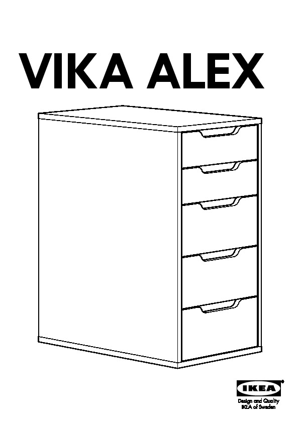 alex caisson tiroirs blanc ikea france ikeapedia. Black Bedroom Furniture Sets. Home Design Ideas