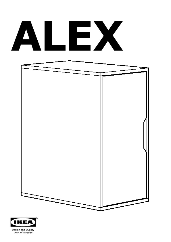 ALEX storage unit  sc 1 st  IKEADDICT & ALEX Storage unit white (IKEA United States) - IKEAPEDIA