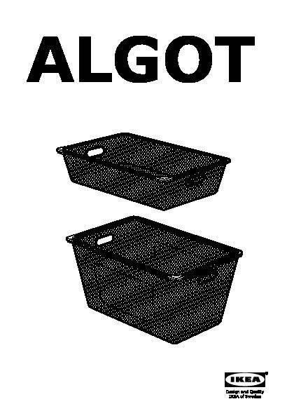 algot structure barre corb filet tabl sup blanc ikea france ikeapedia. Black Bedroom Furniture Sets. Home Design Ideas