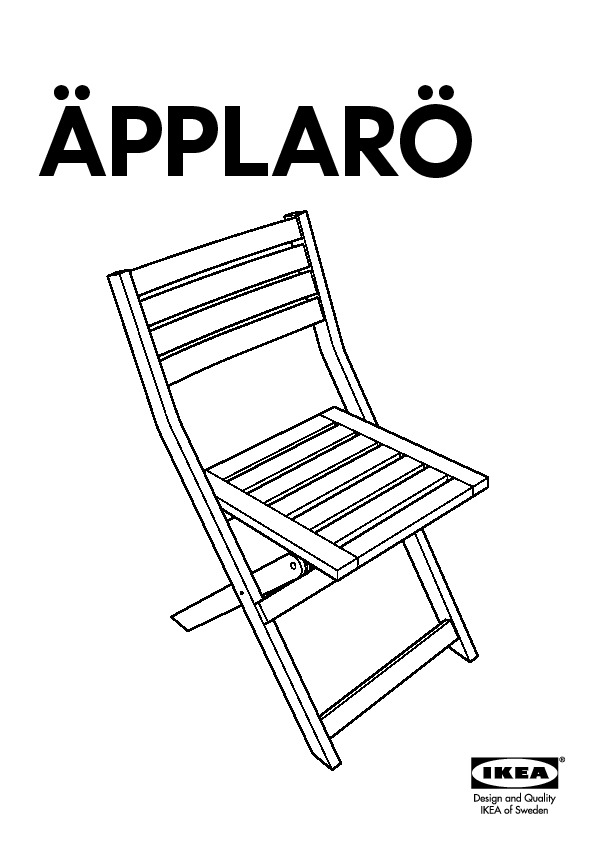 Ikea Sedie Giardino Pieghevoli.Applaro Tavolo 4 Sedie Pieghevoli Giardino Mordente Marrone