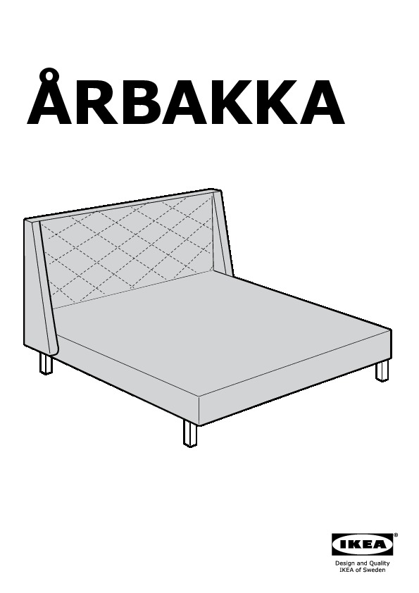 rbakka structure lit avec t te de lit vittaryd blanc ikea france ikeapedia. Black Bedroom Furniture Sets. Home Design Ideas