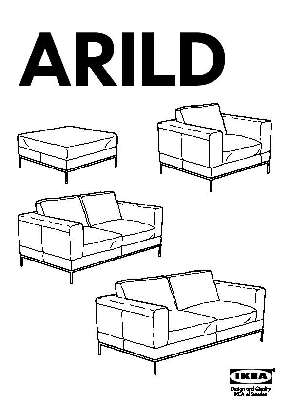 Arild Canapé 3 Places Karaktär Rouge Ikea France Ikeapedia
