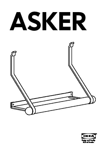 Asker Dévidoir Essuie Tout Blanc Aluminium Ikea France