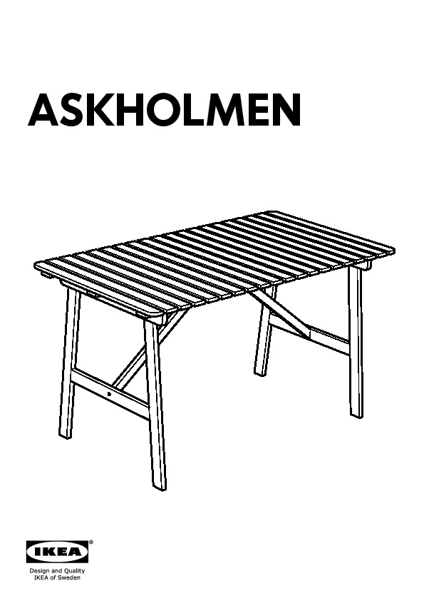 Askholmen salon de jardin gris brun ikea france ikeapedia for Salon de jardin gris ikea