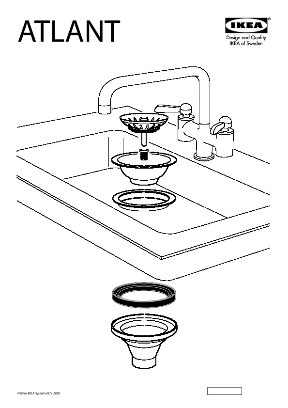 domsj sink bowl white ikea canada english ikeapedia. Black Bedroom Furniture Sets. Home Design Ideas