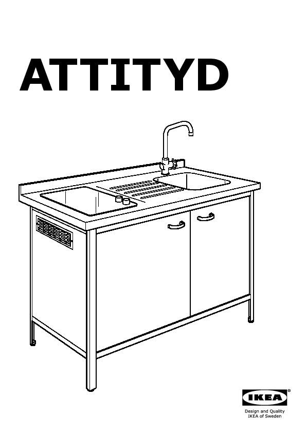 attityd mini cuisine blanc gris clair ikea switzerland ikeapedia. Black Bedroom Furniture Sets. Home Design Ideas