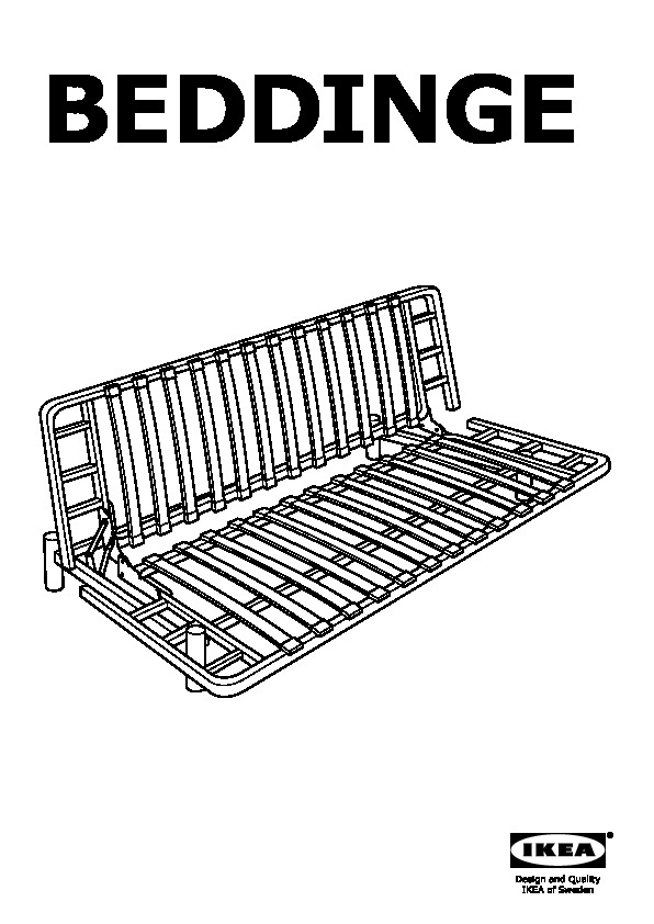Ikea Beddinge Futon Dimensions