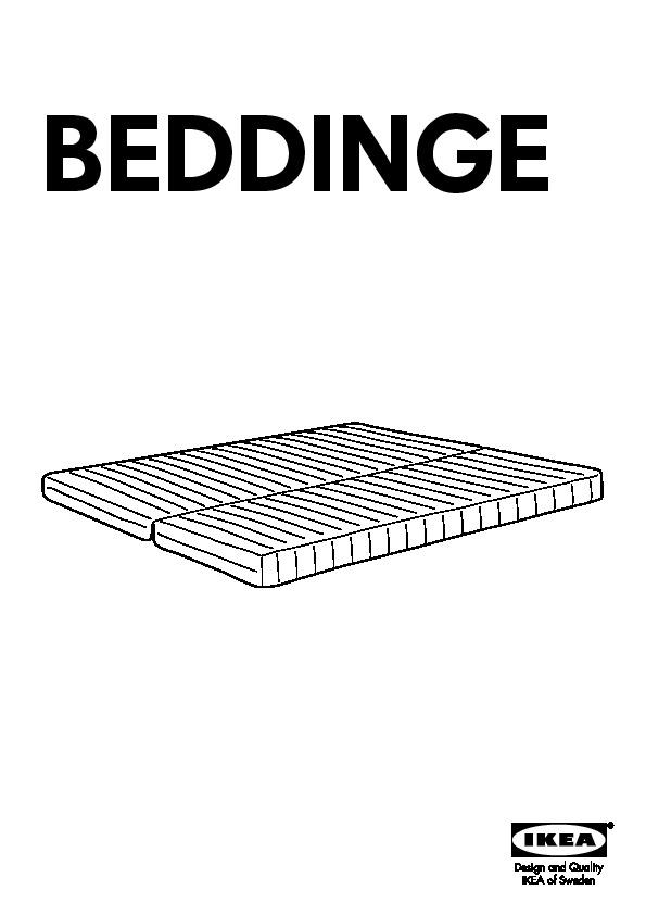 Beddinge L 214 V 197 S Convertible 3 Places Knisa Gris Clair Ikea