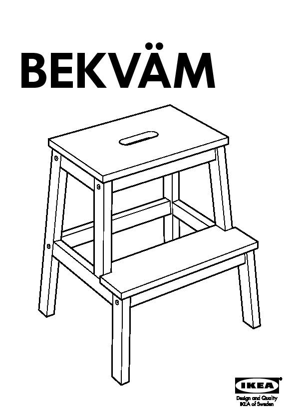 Pleasant Bekvam Step Stool White Ikea Canada English Ikeapedia Machost Co Dining Chair Design Ideas Machostcouk