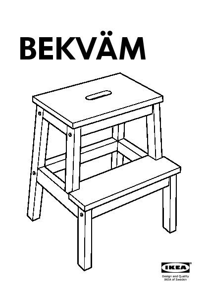Excellent Bekvam Step Stool Black Ikea Canada English Ikeapedia Machost Co Dining Chair Design Ideas Machostcouk