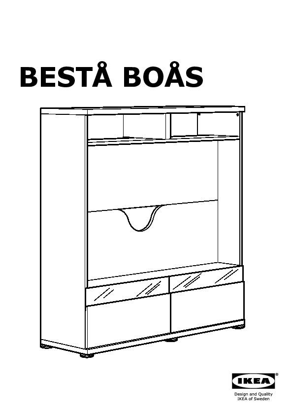 Besta Boas Tv Storage Unit White Ikea United Kingdom