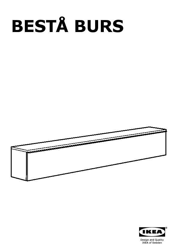 BESTÅ BURS Étagère murale ultrabrillant blanc (IKEA Canada (French