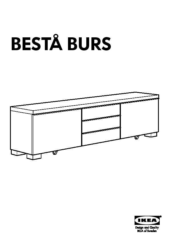 best burs tv storage combination high gloss black ikea united states ikeapedia. Black Bedroom Furniture Sets. Home Design Ideas
