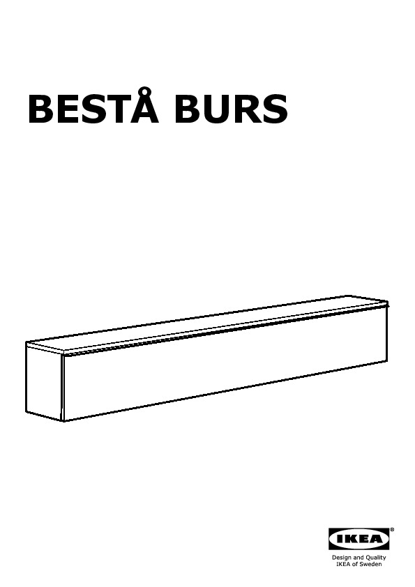 Best burs tv storage combination high gloss black ikea for Ikea besta instructions de montage