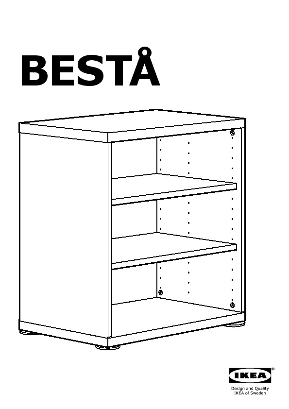Best framst combinaison meuble tv blanc vert clair for Ikea besta instructions de montage