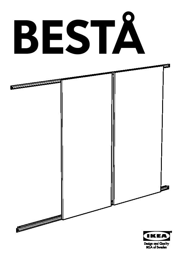 Bestå Rails Pour Portes Coulissantes Aluminium Ikea France Ikeapedia