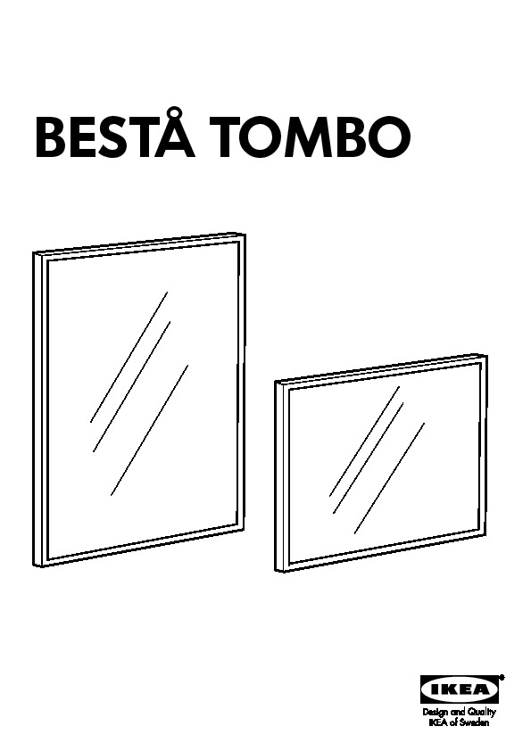 BestÅ Tombo Glass Door