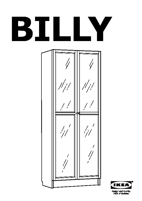 billy biblioth que avec porte vitr e bleu fonc ikea france ikeapedia. Black Bedroom Furniture Sets. Home Design Ideas