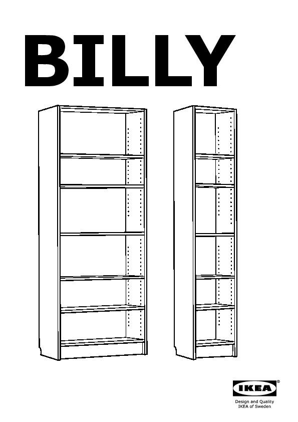 Billy bookcase white ikea united states ikeapedia - Billy ikea misure ...