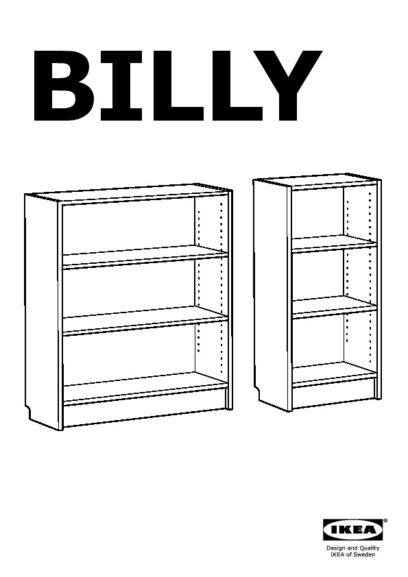 Ikea Libreria Billy Ante.Billy Libreria Marrone Nero Ikea Italy Ikeapedia