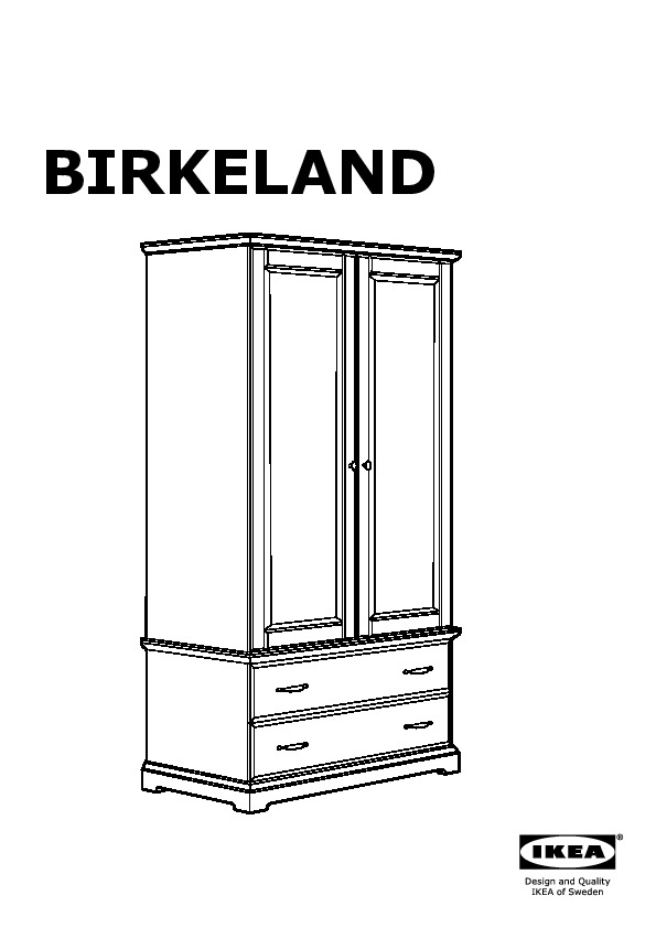 birkeland armoire blanc ikea france ikeapedia. Black Bedroom Furniture Sets. Home Design Ideas