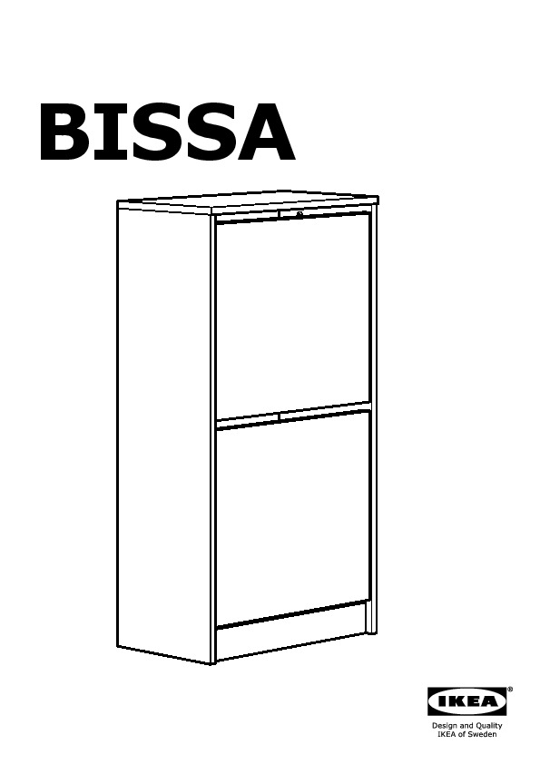 bissa armoire chaussures 2 casiers bouleau ikea france. Black Bedroom Furniture Sets. Home Design Ideas