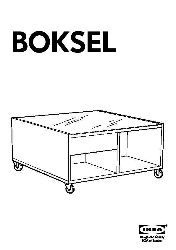 Boksel Coffee Table Medium Brown Ikea United States