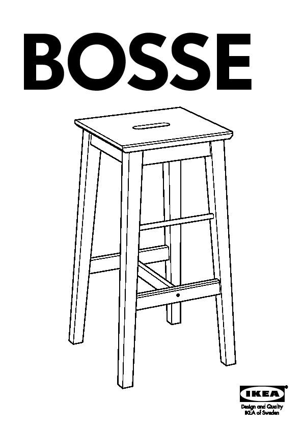 bosse tabouret de bar bouleau ikea france ikeapedia. Black Bedroom Furniture Sets. Home Design Ideas