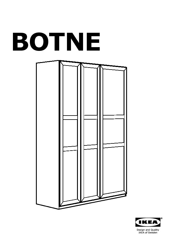 botne armoire penderie blanc ikea france ikeapedia. Black Bedroom Furniture Sets. Home Design Ideas
