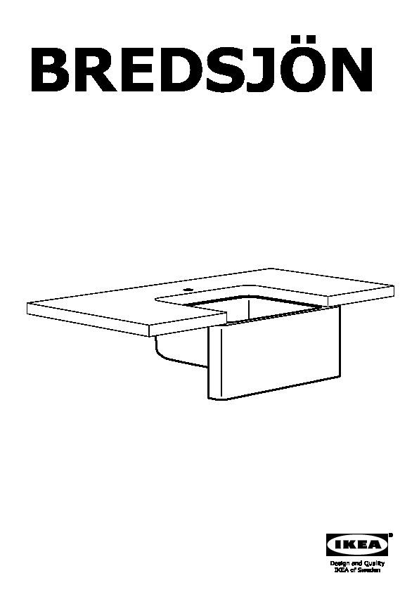 Bredsjon Apron Front Sink Under Glued Stainless Steel Ikeapedia