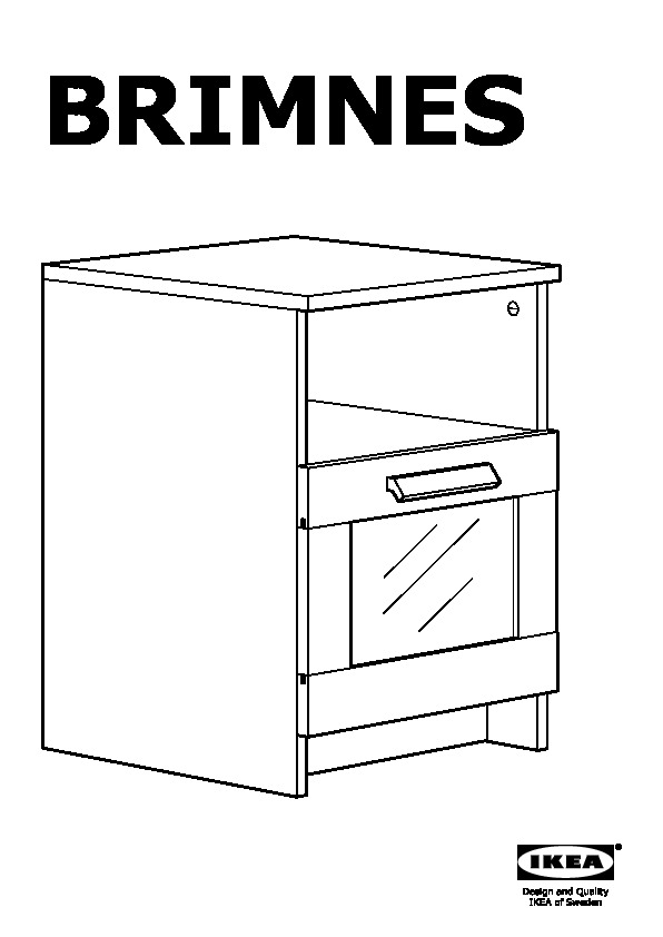 BRIMNES Nightstand black (IKEA Canada (English)) IKEAPEDIA