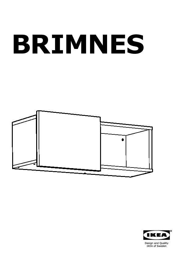 Pensili Ante Scorrevoli Ikea.Brimnes Pensile Con Anta Scorrevole Bianco Ikea Italy Ikeapedia