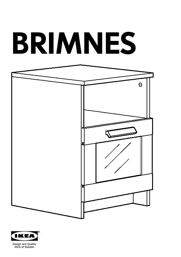 brimnes table de chevet blanc ikea france ikeapedia. Black Bedroom Furniture Sets. Home Design Ideas