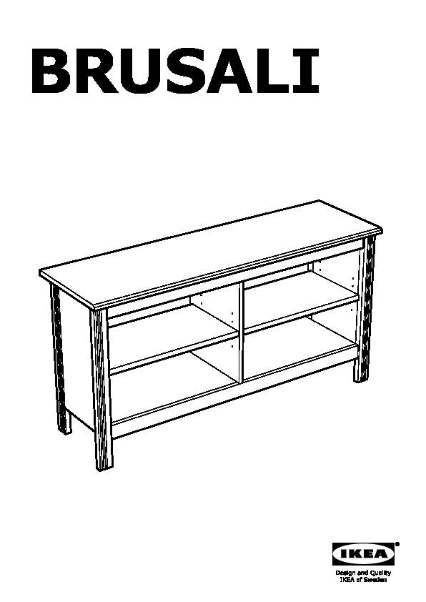 brusali banc tv blanc ikea france ikeapedia. Black Bedroom Furniture Sets. Home Design Ideas