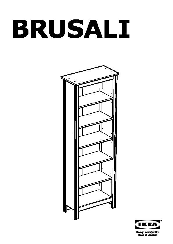 Brusali bookcase white ikea united kingdom ikeapedia for Brusali bookcase