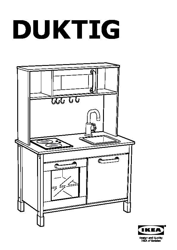 Duktig Mini Cuisine. Trendy Duktig Piece Toy Kitchen Utensil Set ...