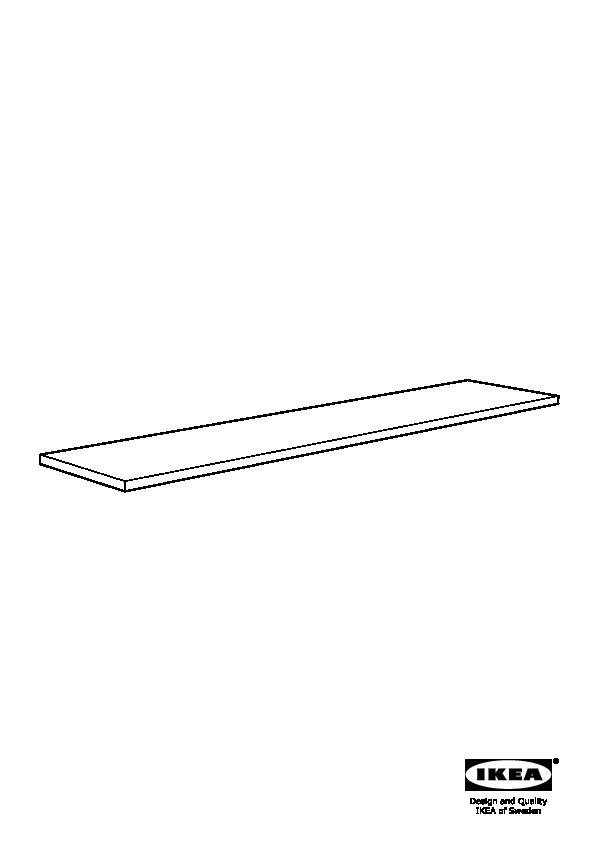 ekbacken plan de travail sur mesure brun noir stratifi ikea france ikeapedia. Black Bedroom Furniture Sets. Home Design Ideas