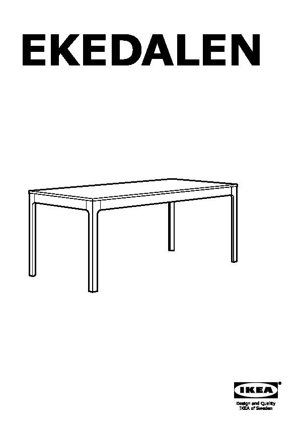 EKEDALEN Table extensible