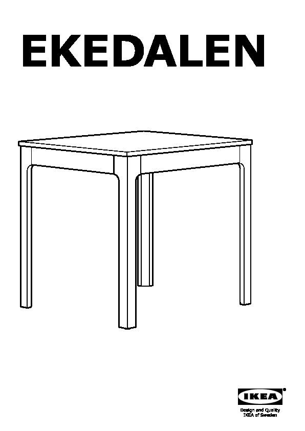 EKEDALEN Tavolo allungabile bianco (IKEA Italy) - IKEAPEDIA