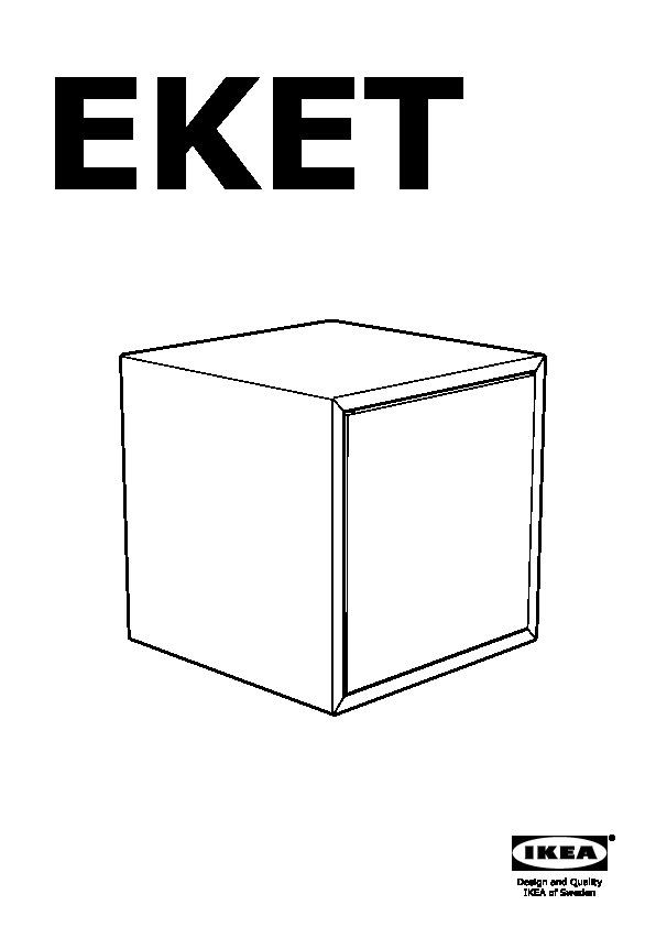 Eket Wall Mounted Cabinet Combination White Ikea Canada English