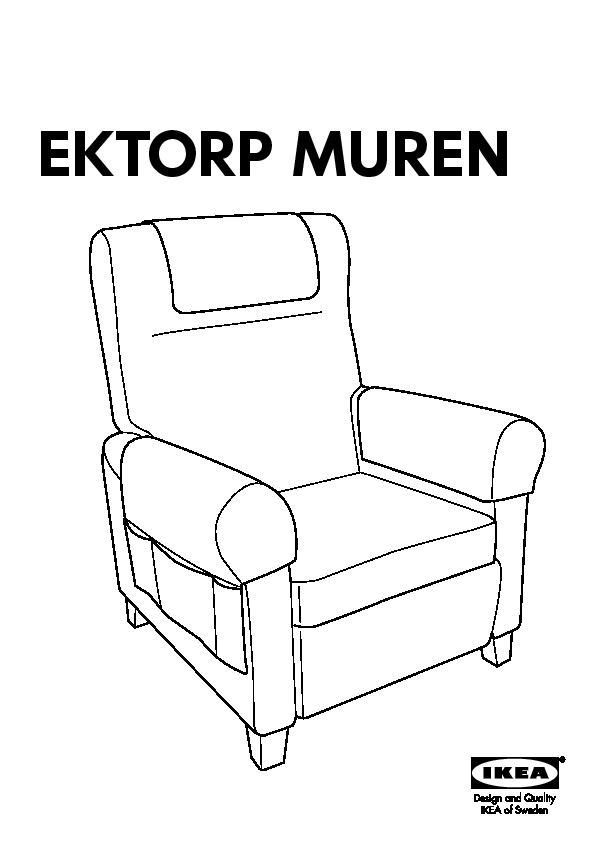 Ektorp Muren Fauteuil.Ektorp Muren Fauteuil Idemo Noir Ikea France Ikeapedia