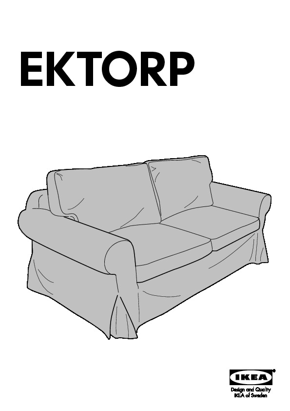 ektorp convertible 2 places idemo noir ikea france ikeapedia. Black Bedroom Furniture Sets. Home Design Ideas