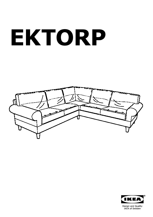 housse de canapé d angle ektorp EKTORP Canapé d'angle 2+2 Risane écru beige (IKEA Canada (French  housse de canapé d angle ektorp