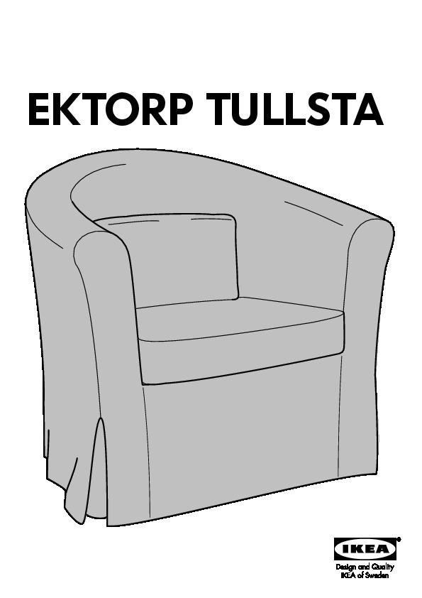 Fauteuil Ikea Ektorp Blanc.Ektorp Tullsta Fauteuil Ecru Blekinge Blanc Ikea Canada