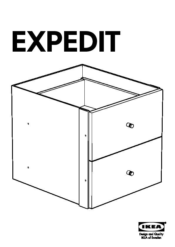 expedit tag re avec tiroirs ikea france ikeapedia. Black Bedroom Furniture Sets. Home Design Ideas