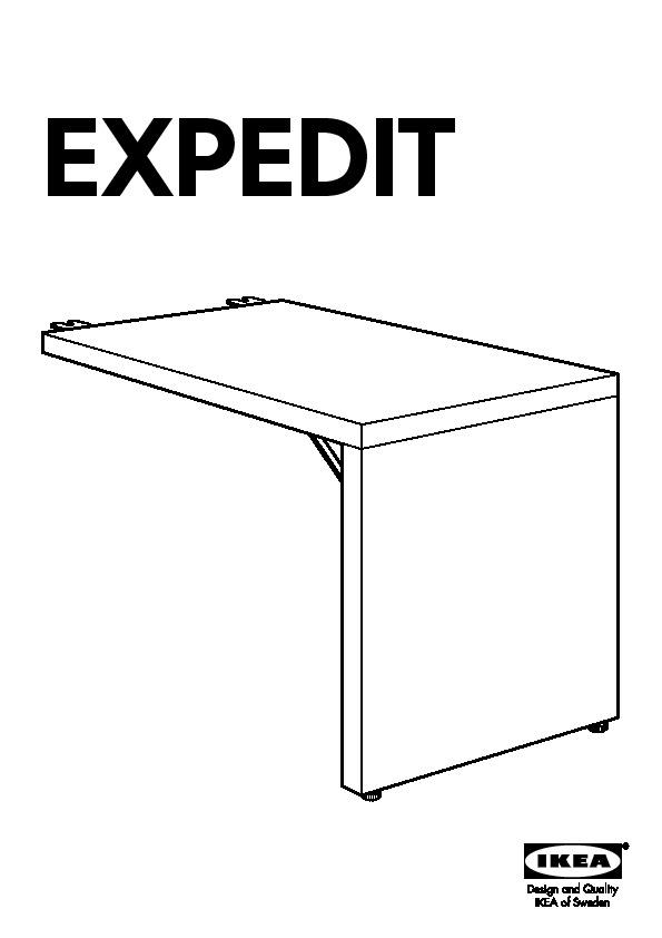 Expedit Ikea Scrivania.Expedit Combinazione Con Scrivania Bianco Ikea Italy