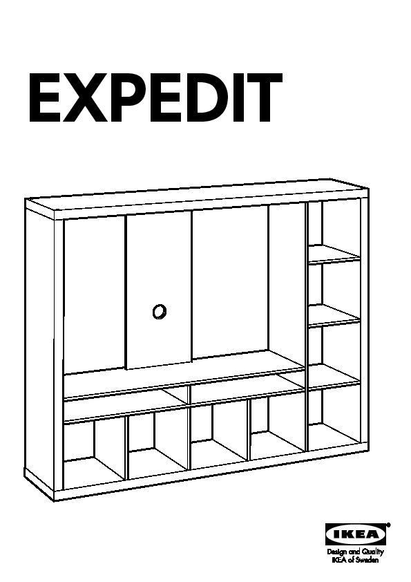 expedit meuble tv blanc ikea france ikeapedia. Black Bedroom Furniture Sets. Home Design Ideas