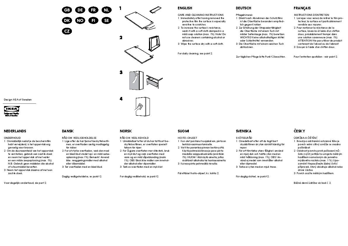 ikea pax komplement instructions
