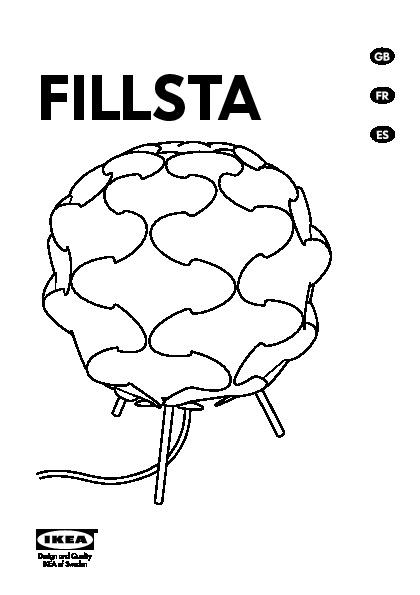 Fillsta Table Lamp White Ikea United States Ikeapedia