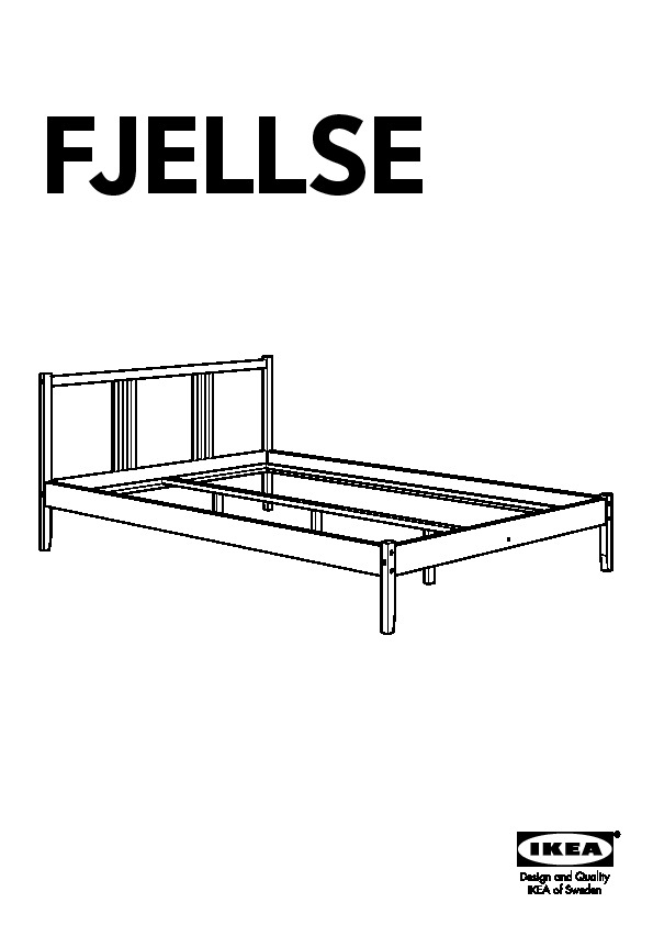 fjellse cadre de lit pin l nset ikea france ikeapedia. Black Bedroom Furniture Sets. Home Design Ideas